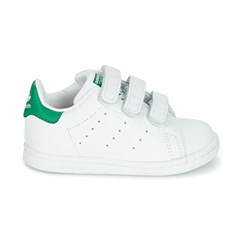 Garçon Smith Blanco Verde Basket Mode Stan Adidas Z1SqvwIxnR