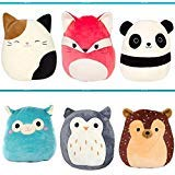 Squishmallow Original Kellytoy 4 Pack 5'' (Randomly Selected) Super Soft Plush Toy Stuffed Animal Pet Pillow Gift Holiday Christmas by Squishmallow