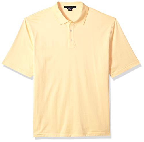 D & Jones Men's DRYTEC20 Performance Polo, NEW BUTTER, XL