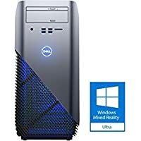 Dell i5675 Premium Gaming and Business Desktop (AMD Ryzen 5 1400 Quad Core, 32GB RAM, 6TB HDD + 1TB PCIe SSD, DVD burner, AMD Radeon RX 570 4GB, Win 10 Pro) Compatible with Windows Mixed Reality