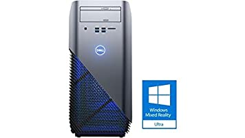 Dell i5675 Premium Gaming and Business Desktop (AMD Ryzen 5 1400 Quad Core, 32GB RAM, 6TB HDD + 1TB sata SSD, DVD burner, AMD Radeon RX 570 4GB, Win 10 Home) Compatible with Windows Mixed Reality
