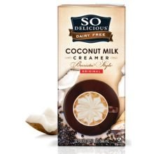 So Delicious Barista Style Original Coconut Milk Creamer, 32 Fluid Ounce - 6 per case.