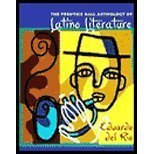 Prentice Hall Anthology of Latino Literature (02) by [Paperback (2001)]