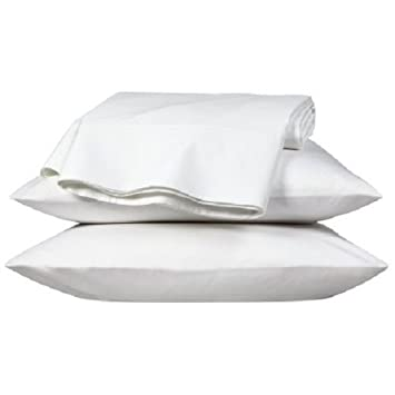 Extra Large luxury pillowcase Pair, White, To fit large pillow ...