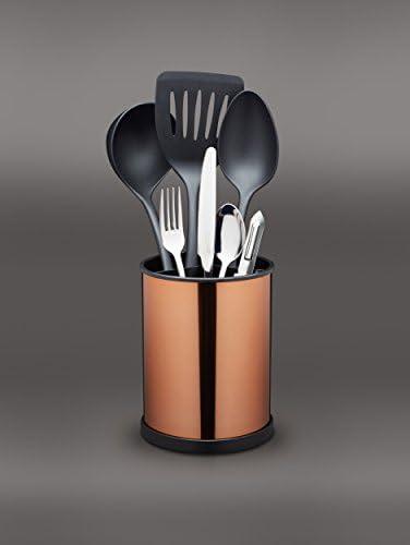 25 x 25 cm Kitchen Craft K/üchenwerkzeug-Rundst/änder Master Class drehbar aus Kupfer in braun