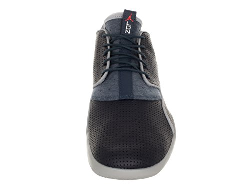 Nike Jordan Eclipse Ltr, Zapatillas de Deporte para Hombre Azul / Naranja (Drk Obsdn / Brght Crmsn-Sqdrn Bl)