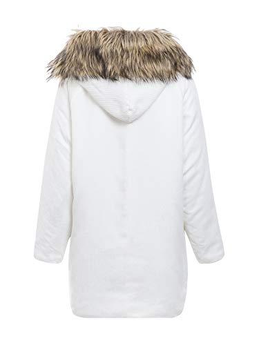 Mujer Abrigo Para Para Annybar Abrigo Annybar Abrigo Annybar Mujer Mujer Para Blanco Blanco Abrigo Blanco Annybar fRrRw0gOWq