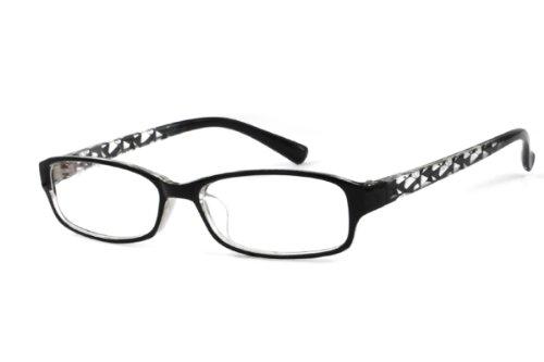 EyeBuyExpress Black Full Frame Rectangle Reading Glasses