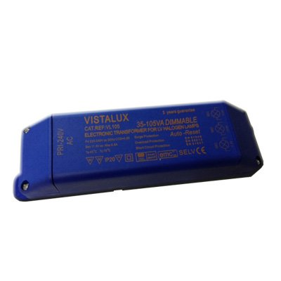 105W Electronic Transformer for Low Voltage Lighting