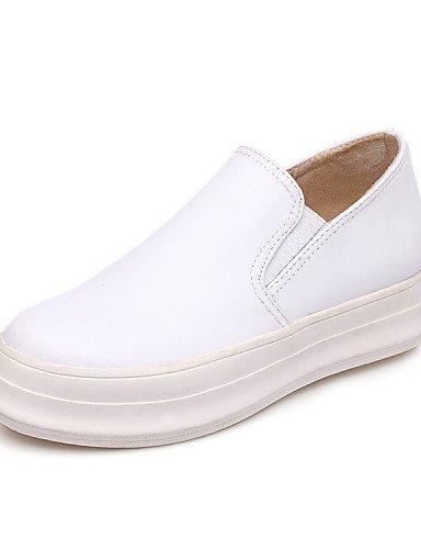 5 5 Comfort Eu42 us7 Mocasines Cerrada Black 5 Cn43 Eu38 Redonda us10 Uk8 Plataforma Zapatos Uk5 Cn38 Casual Mujer White De Zq 5 Deporte Punta Planos Exterior qxZaIRBw