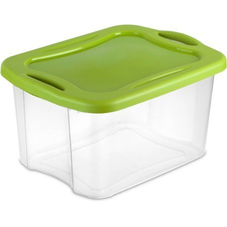 Sterilite 40 Quart EZ Carry- Spicy Lime (Available in Case of 6 or Single Unit)