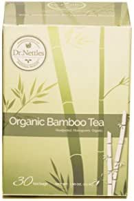 Organic Bamboo Leaf Tea Bags (30 Pack): Health Supplement for Hair Growth, Skin, and Nails