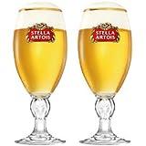Set of 6 40 Cl Stella Artois Glasses New