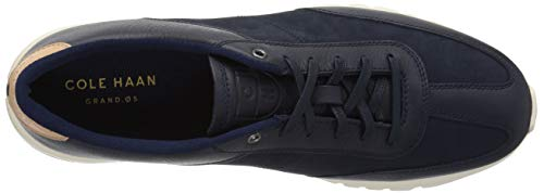 Cole Grand Blue Leather Men's Nubuck Marine Runner Haan Crosscourt Sneaker q6P7qw4A