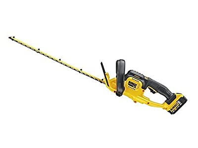 Stanley Black & Decker DCM563P1-GB 18 V 5 A XR Cordless Hedge Trimmer - Yellow by Stanley Black & Decker