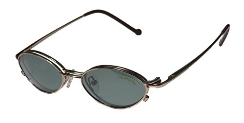 Magnetic Eyewear 800 Mens/Womens Designer Full-rim Sunglass Lens Clip-Ons Spring Hinges Eyeglasses/Spectacles (47-17-140, - For Sunglasses Eyeglasses On Clip Magnetic