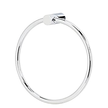 modern towel ring. Alno A7040-PC Spa 1 Modern Towel Rings, Polished Chrome, 6\u0026quot; Ring