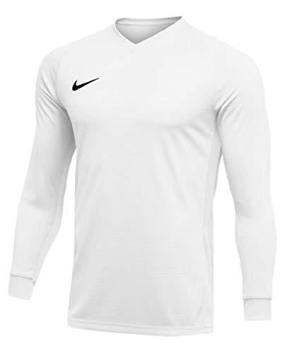 Nike Tiempo Premier Long Sleeve Jersey (White) - Long Jersey Nike Sleeve