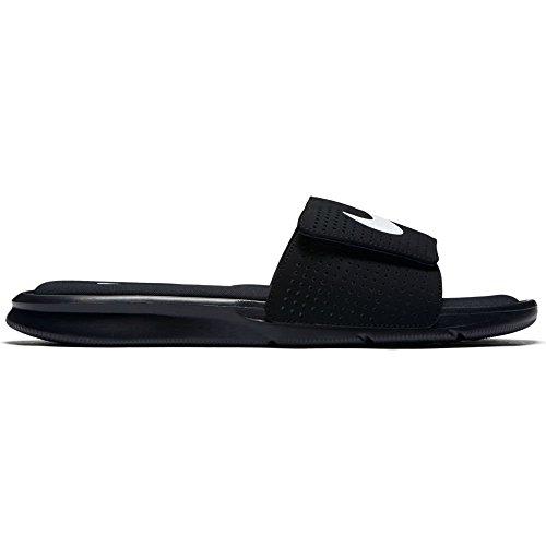 Nike Men's Ultra Comfort Slide (12 D(M) US, Black/White-Black)