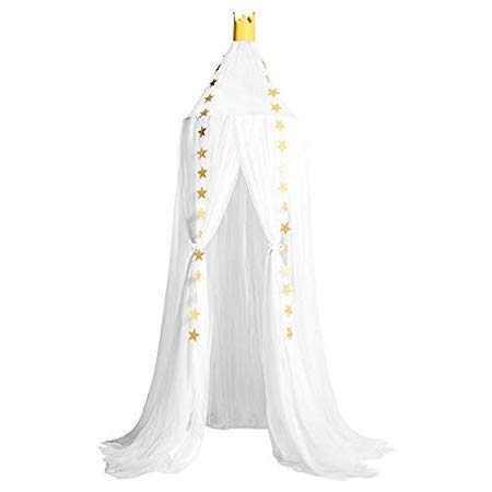 Assyrian Hoomall Born Hanging Mosquito Net Tent Canopy Children Bedding Round Decor - Mosquito Net