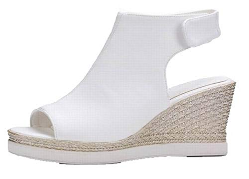 Velcro Tricotage Pu Femme Agoolar Cuir qHSt6wIx