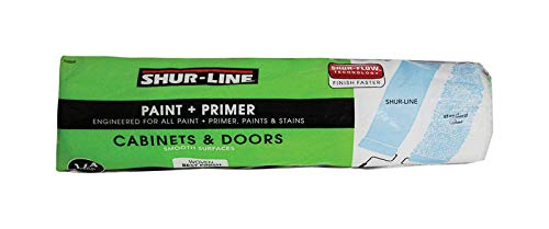 Shur-Line 55505 Premium Select 1/4-Inch Smooth Roller Cover, 3-Pack