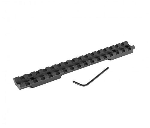 Evolution Gun Works Savage Round Back Short Action Picatinny Rail Scope Mount 20 MOA Ambidextrous