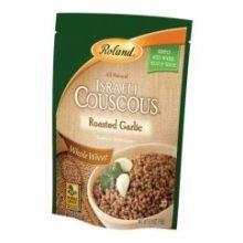 Roland Whole Wheat Roasted Garlic Israeli Couscous, 6.3 Ounce -- 6 per case. (Roland Garlic)
