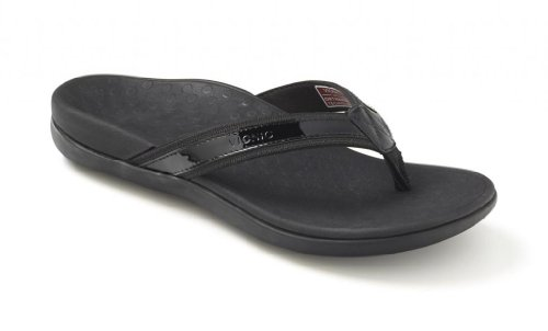 (Vionic Women's Tide II Black Sandal )