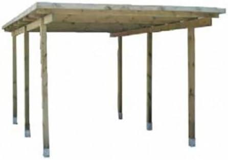 Probic - Pérgola de madera (apta para garaje): Amazon.es ...
