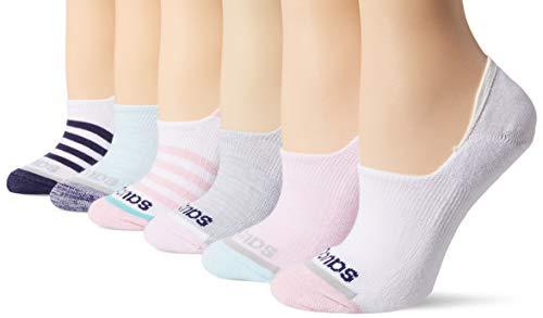 Saucony Women's 8-Pair No Show Invisible Liner Socks, Fashion Assort, Shoe Size: 5-10 Size 9-11