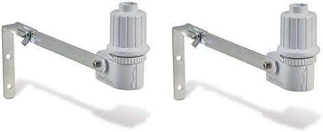 Pack of 2 Rain Bird CPRSDBEX Wired Rain Sensor with Mounting Bracket and Wire