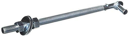 - Mintcraft LR084 ProSource Bolt Hook, 5/8 in Dia X 12 in L, Zinc Plated, 5/8
