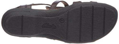 Clarks - Botines de cuero para mujer Marrón (Braun (Marron))