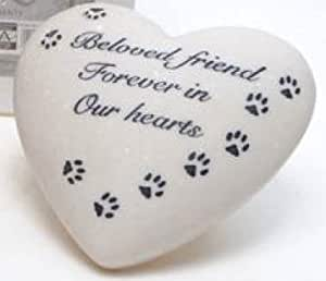 Monumento del animal doméstico tibertano corazón sepelio Cat