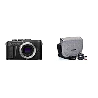 Olympus Pen E-PL10 Black with Step Up Kit