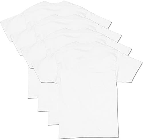Hanes Men's ConvenienceSoft Short Sleeve T-Shirt (4 Pack )