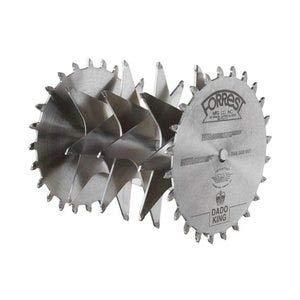 Forrest DK08244 Dado King 8-inch 29/32-inch Width 5/8-inch Bore Dado Blade Set