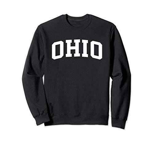 Ohio Crewneck Sweatshirt Sports College Style State Gifts