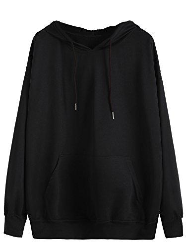 MakeMeChic-Womens-Long-Sleeve-Pullover-Kangaroo-Pocket-Sweatshirt-Hoodies