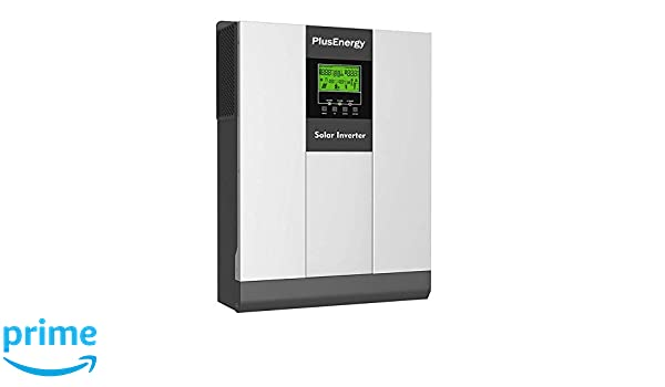 Inversor Solar 3KW Pico 6KW 24v híbrido Regulador MPPT 80A Cargador 30A con función de Paralelos hasta 9000W Pico 18.000W