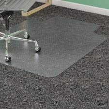 Lorell 45 by 53-Inch Wide Antistatic Chair Mat, 25 by 12-Inch Lip, - Mats Chair Diamond Static Anti