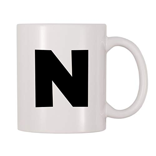 4 All Times Bold Letter N Coffee Mug (11 oz) ()