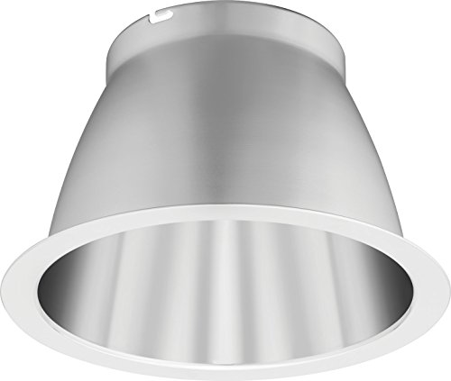 Lithonia Lighting LO6AR LDN 6-Inch Open Semi-Specular Clear LED Downlighting Trim (Semi Gloss Trim)