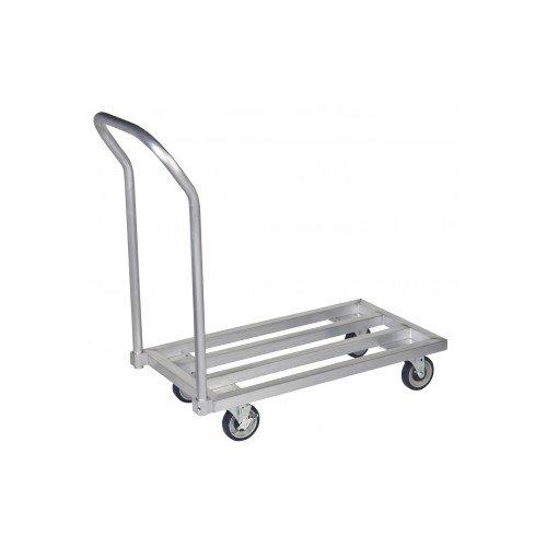 - Focus Foodservice FMADR4824 Dunnage Mobile Rack, Heavy Duty Aluminum, 48