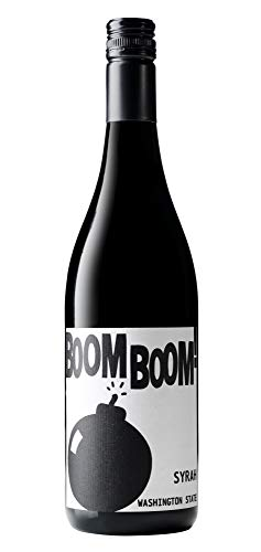 Boom Boom! Syrah, Charles Smith Wines, Red, 750 mL bottle