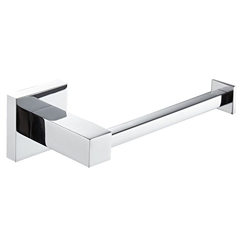 - Bathroom Toilet Paper Holder Stainless Steel Wall Mount FAUMIX Tissue Dispenser Roll Paper Holder - Chrome