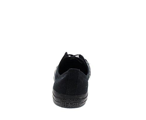 Converse Ctas Mono Ox 015490-70-8 - Zapatillas de tela, Unisex Schwarz (Noir Mono)