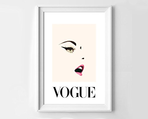 poster-vogue-art-light-pink-and-white-cover-print-decoration-for-home-20-x-28