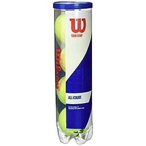 Wilson Palline da Tennis Tour Comp, per Campi da Tennis Duri, Giallo 7 spesavip